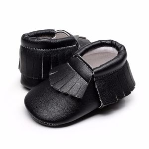 Other - New black soft sole baby toddler moccasins